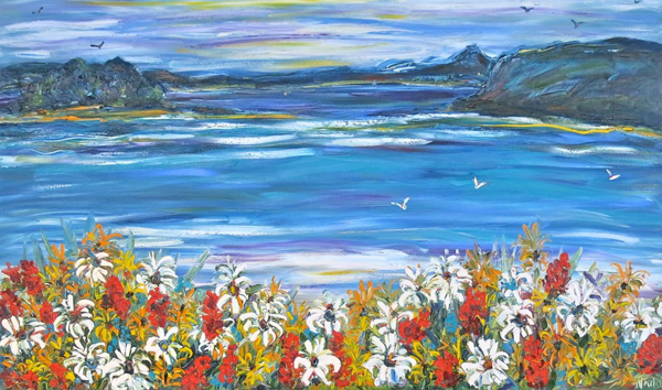 South Coast Beach Floral 1m X 1.5m