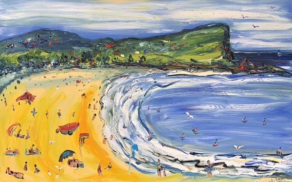 Avalon Beach 120cm x 76cm