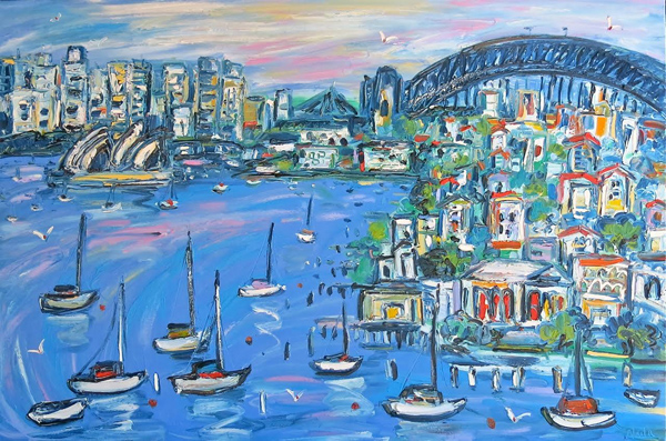 Neutral Bay 1m X 1.5m