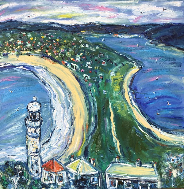 Palm Beach Lighthouse 110cm x 110cm