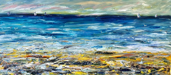 Sea Spray 250cm x 110cm